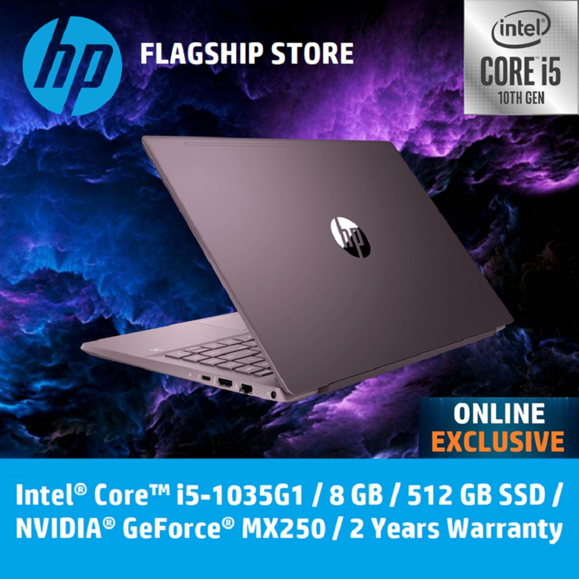 HP Laptop Pavilion - 14-ce3052tx - Intel 10th Gen Processor **ONLINE EXCLUSIVE** [FREE Delivery & Backpack] Malaysia