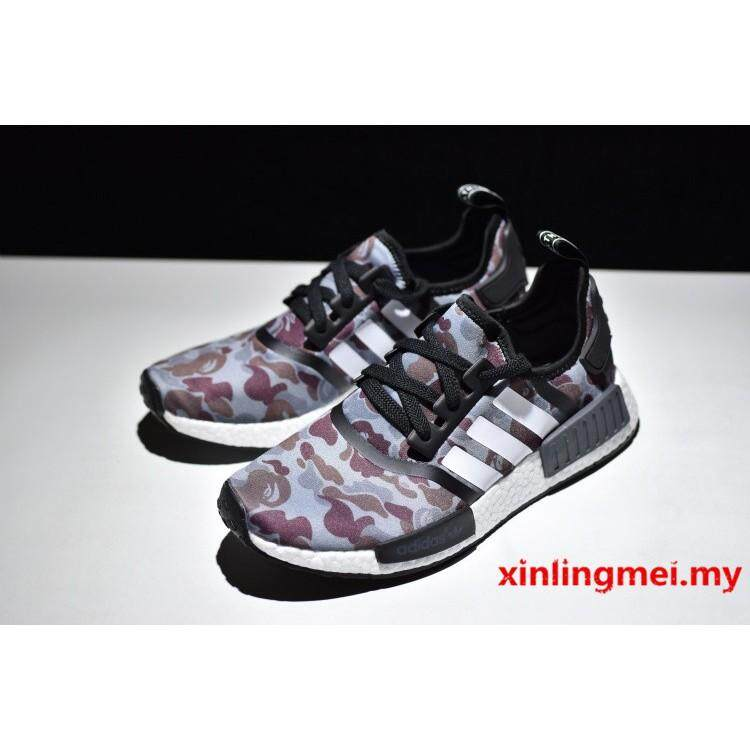 69357c919 Ready stock adidas shoes nmd r1 pk men and women shoes running shoes  sneakers