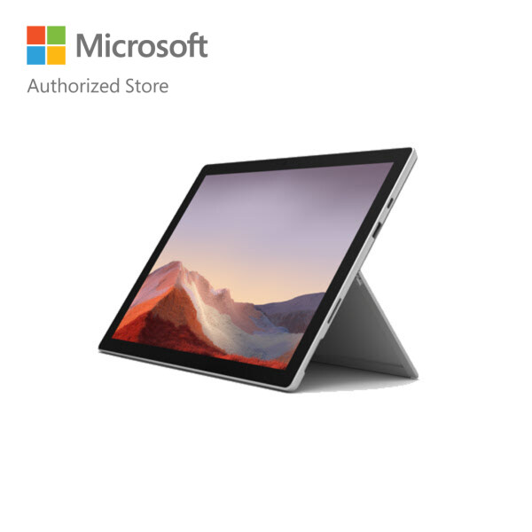 [BUNDLE] Microsoft Surface Pro 7 - Platinum (i5/8GB/128GB) + Type Cover (Poppy Red) Malaysia
