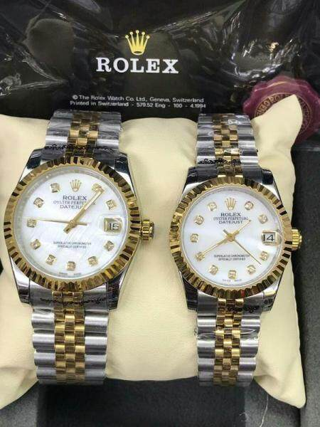 Rolex_34mm-38mm Gurrented Cheap Price Couple Automatic Full Set Unique Heritage Design With Genuine Gift Box Fast Shipping Service Ready Stock Malaysia