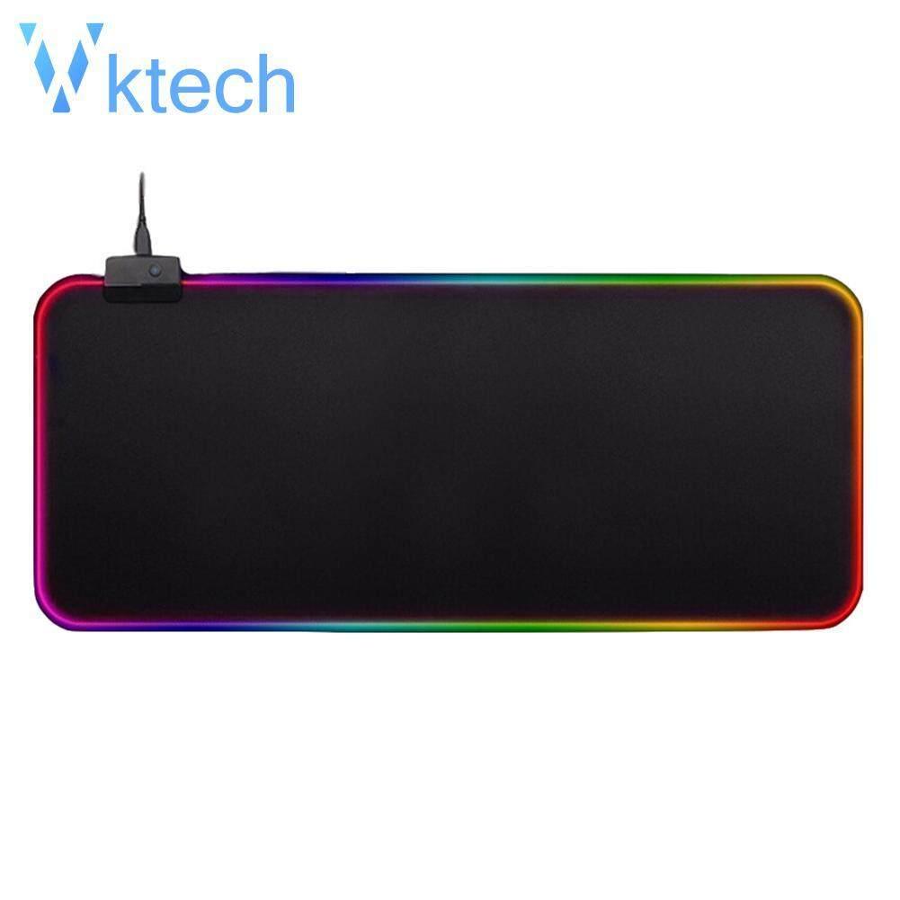 ce0bf0ecaf58 [VKTECH] Large LED RGB Mouse Pad Rubber Lighting Gaming Mousepad Desktops  Mice Mat