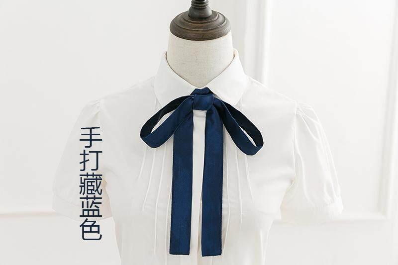 Korean necktie British college fashion hand fluttering JK tie male and female casual necktie free tie