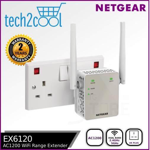 Netgear AC1200 WiFi Range Extender - EX6120