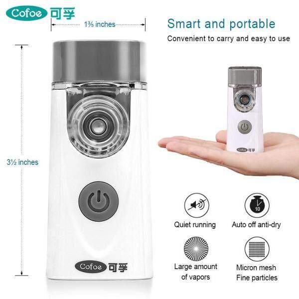 Cofoe USB Sạc Máy Nén Khí Máy Phun Sương Gia Dụng Cầm Tay Sử Dụng Máy Phun Sương Cầm Tay Hen Mini Hít Cho Bé Ho