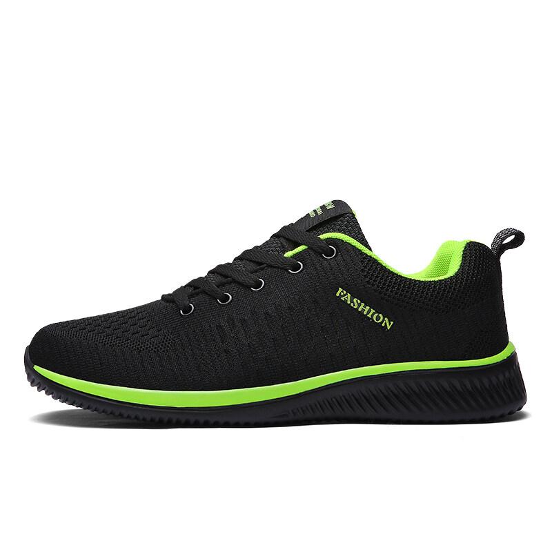 Giày Thể Thao Nam Giày Nam Đơn Giản Thời Trang Giày Nam Thoáng Khí Giày Đi Bộ Quần Vợt Nam Đen Tenis Masogio Zapatillas Hombre