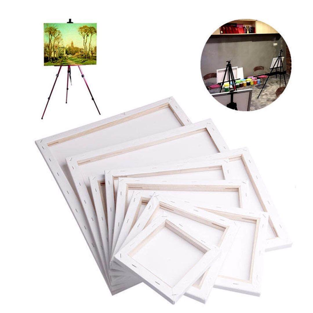 Idealhere White Blank Square Artist Canvas Wooden Board Frame Primed Oil Acrylic Paint By Idealhere.