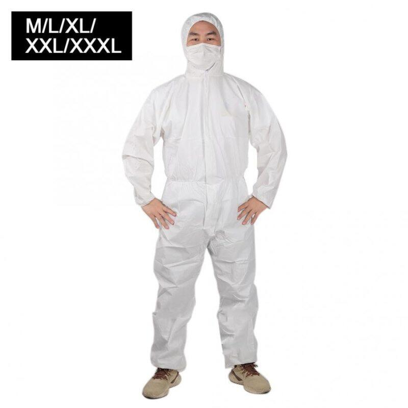 Suit  Work Clothes Personal Care Coveralls Resistant Clothing Breathable Polypropylene