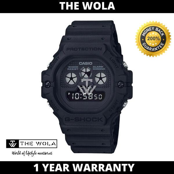 (100% Original G SHOCK) GSHOCK Men Sport Digital Watch DW-5900BB-1DR (watch for man / jam tangan lelaki / G SHOCK watch for men / G SHOCK watch / men watch / watch for men) Malaysia