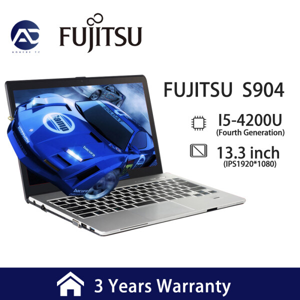 [3 Years Warranty] Fujitsu LifeBook A 13.3 Ultra-thin fourth-generation I5-4200 notebooks can play CF LOL games. This business office notebook(Windows 7 system) Malaysia