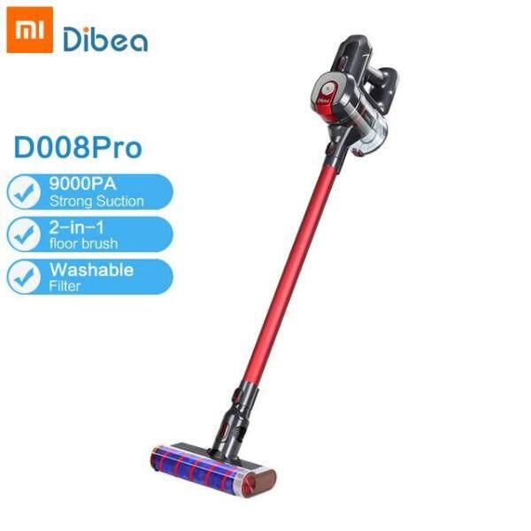 Original Dibea D008 Pro Handheld Wireless Vacuum Cleaner Portable Cordless Strong Suction aspirador Home Carpet cyclone Dust Collector Singapore