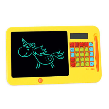 LCD Writing Tablet//Electronic Writing//Drawing Board Doodle Board Blue 10 Inch Childrens Drawing Board Non-Magnetic Light Energy Small Blackboard Graffiti