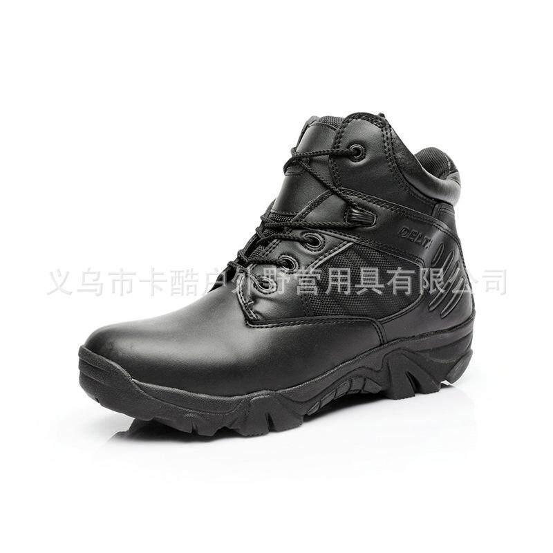 Delta แก๊งต่ำรองเท้าทหารพัดลมทหารรองเท้าบูททะเลทราย Forces รองเท้าบูตลุยป่า By Waterlily