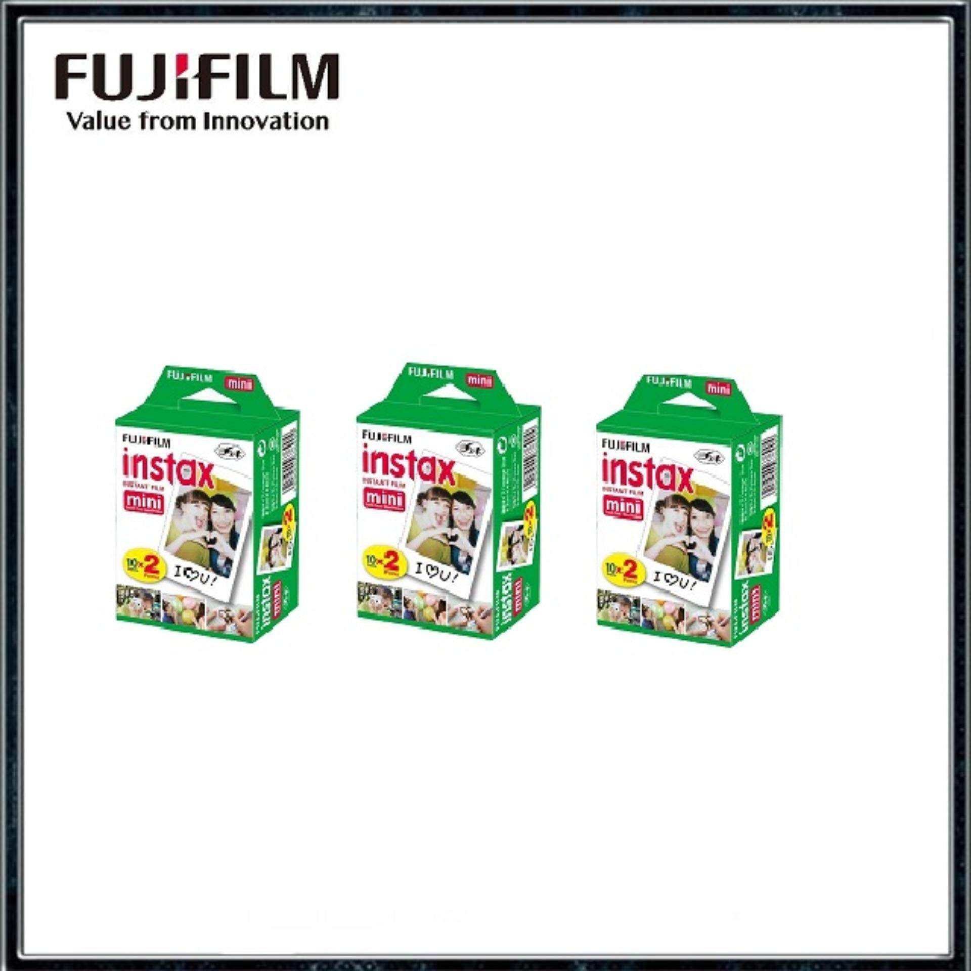 Fujifilm Instax Mini Instant Film Twin Pack (60sheets) By Digital Solutions.