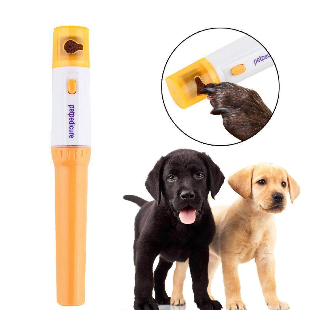 Deyln Electric Painless Pet Nail Clipper Pet Dogs Cats Paw Nail Trimmer Cut Pets Grinding File