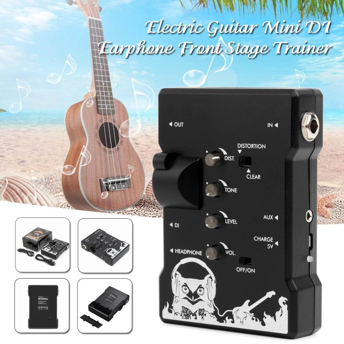 Caline S2 Tai Nghe DI Nhỏ Cho Guitar Điện Tập Luyện Có Thể Sạc Lại Giai Đoạn Trước Huấn Luyện Viên Bàn Đạp Hiệu Ứng Guitar