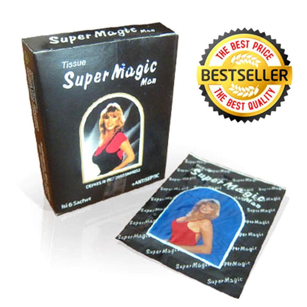 (original) Magic Delay Tisu 1 Box 6pcs By Team Shop.