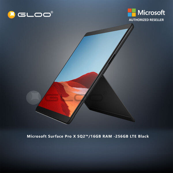 Microsoft Surface Pro X SQ2™/16GB RAM -256GB LTE Black 1WT-00022 Malaysia