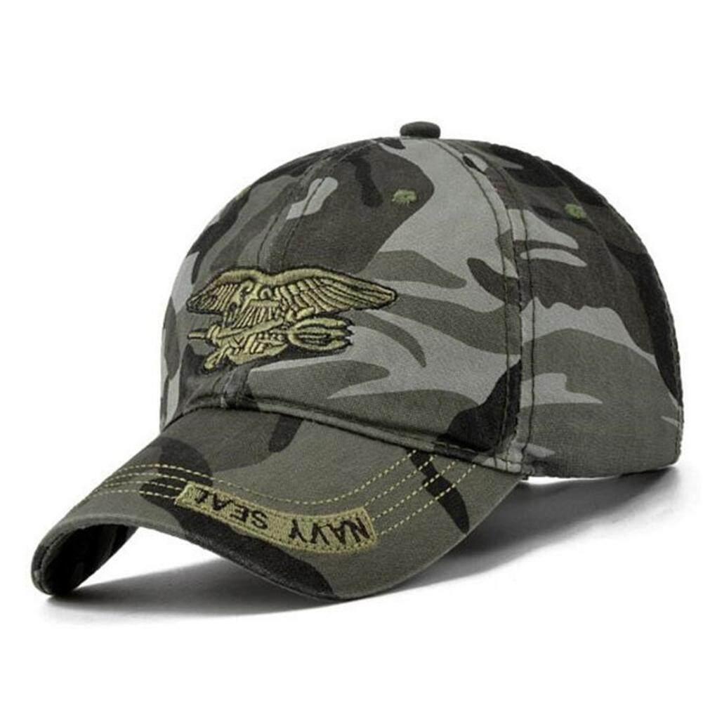 faa10fcc87 windycat Cool Unisex Military Adjustable Outdoor Hunting Fishing Snapback  Baseball Cap