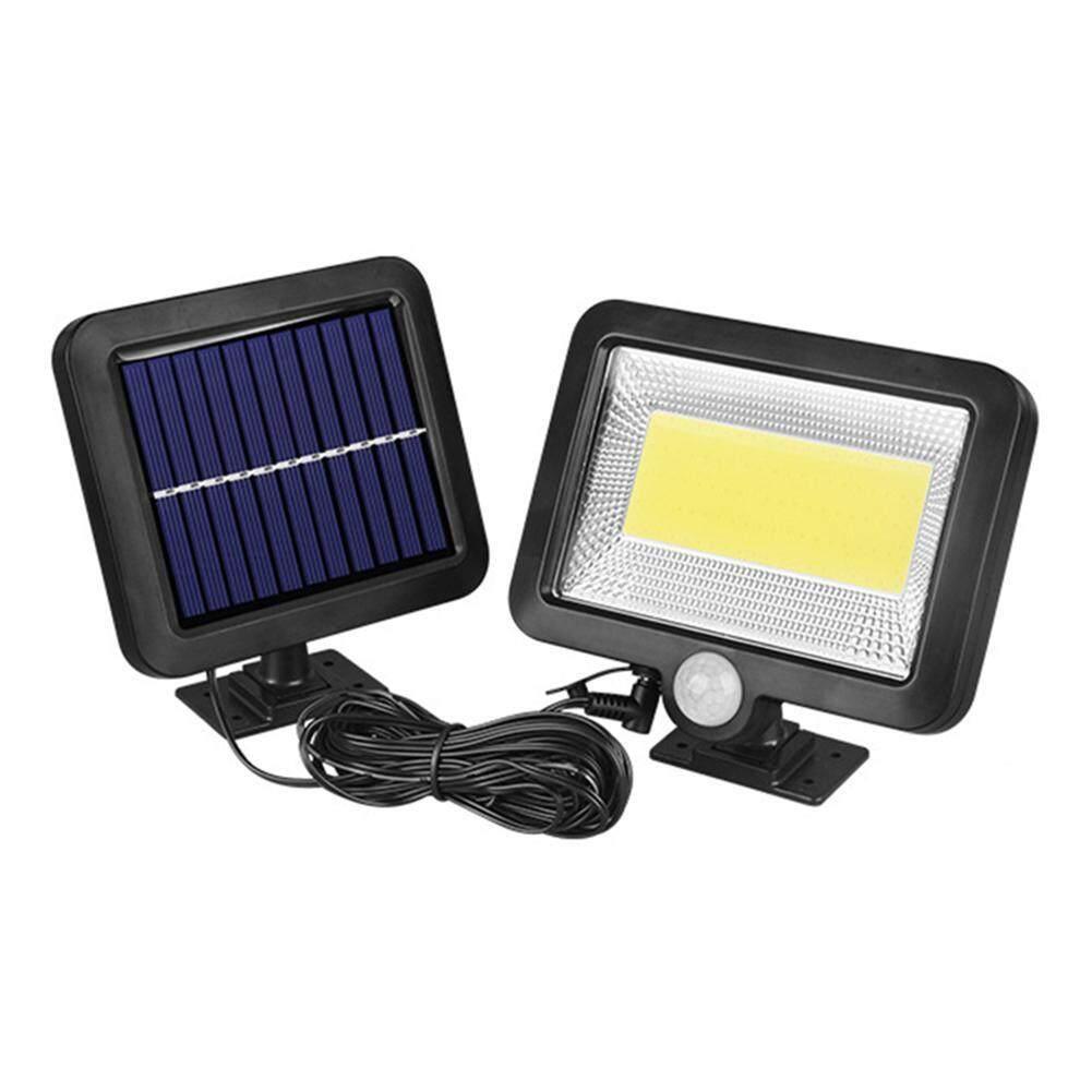 【companionship】COB 100LED Solar Lamp Motion Sensor Waterproof Outdoor Path Night Lighting