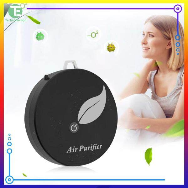 ABS Low Noise Air Freshener Generator Negative Ion Kids Adults Wearable Air Purifier Black/White Singapore