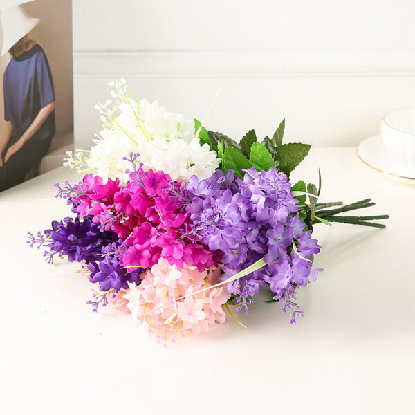 Houseeker Bó hoa lụa giả tự trang trí tiệc, nội thất - INTL