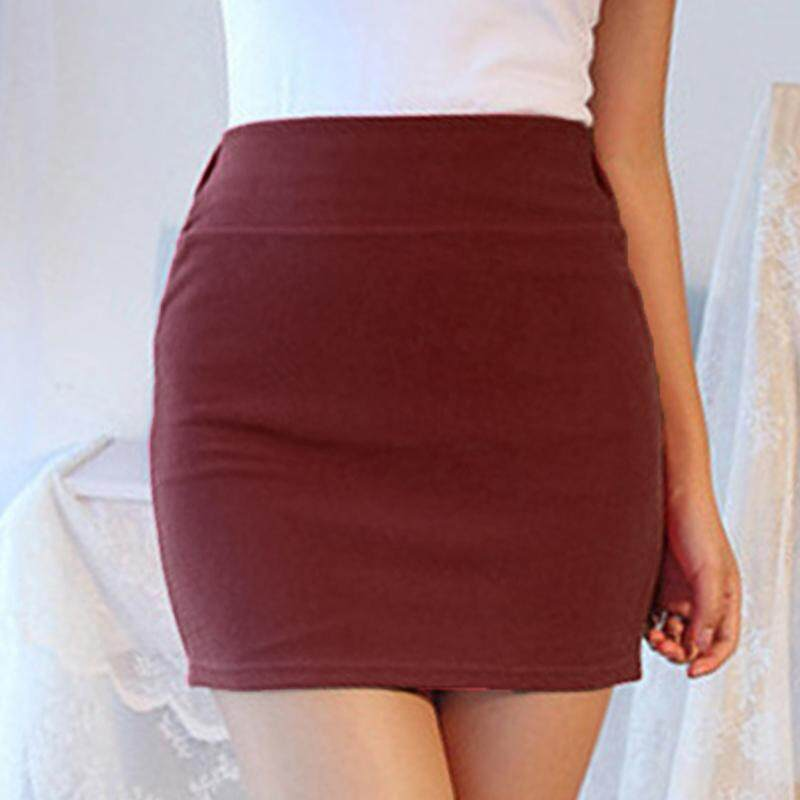 c60b51da1eed75 Vgobuy Women Ladies Slim Fit Upper Thigh Length Mini Skirt Fashion A-line Short  Dress
