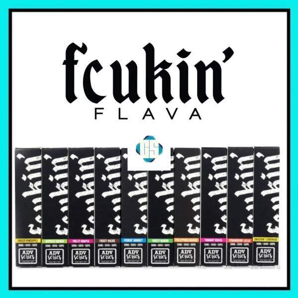 Fcukin_ Flava Freebase 60ML Fcukin Munkey / Freezy Pineapple / Freezy Mango / Freezy Grapes / Frosty Hacks / Philippines Mango / Yummy Guava / Smashin Lemonade / Strawberry Jello Malaysia