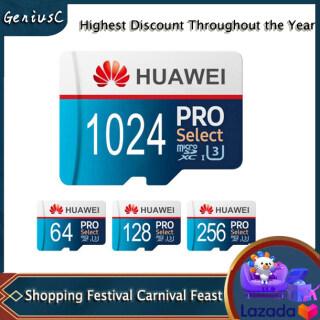 GeniusC Hua-Wei Pro 64G 128G 256G 512G 1T Thẻ Lưu Trữ Bộ Nhớ TF Tốc Độ Cao Cho Điện Thoại thumbnail