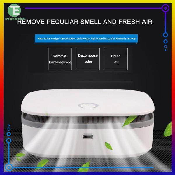 Portable Mini Air Purifier Smart Fridge Freshener Air Cleaner Ozone Anion Generator Auto Clear Odor Singapore