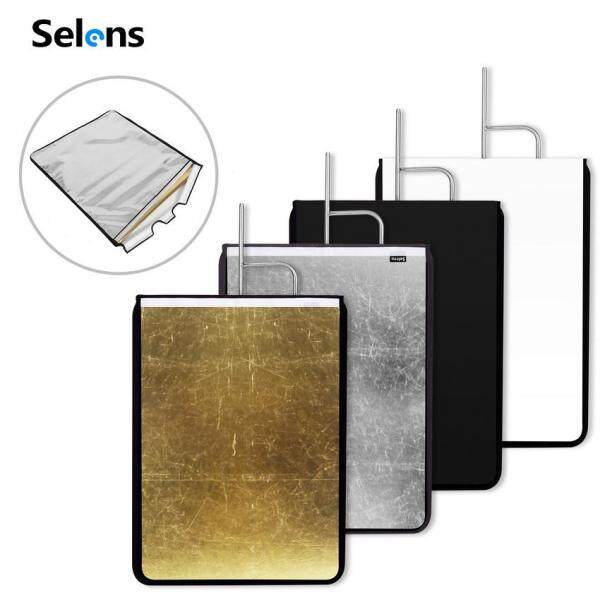 Selens Stainless Flag Panel Cloth 4 in 1 Reflector Diffuser For Photo Video Studio