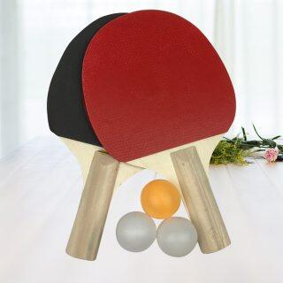 Rubber Faced Table Tennis Racket Beginner Training Ping-pong Board Table Tennis Racket Set thumbnail