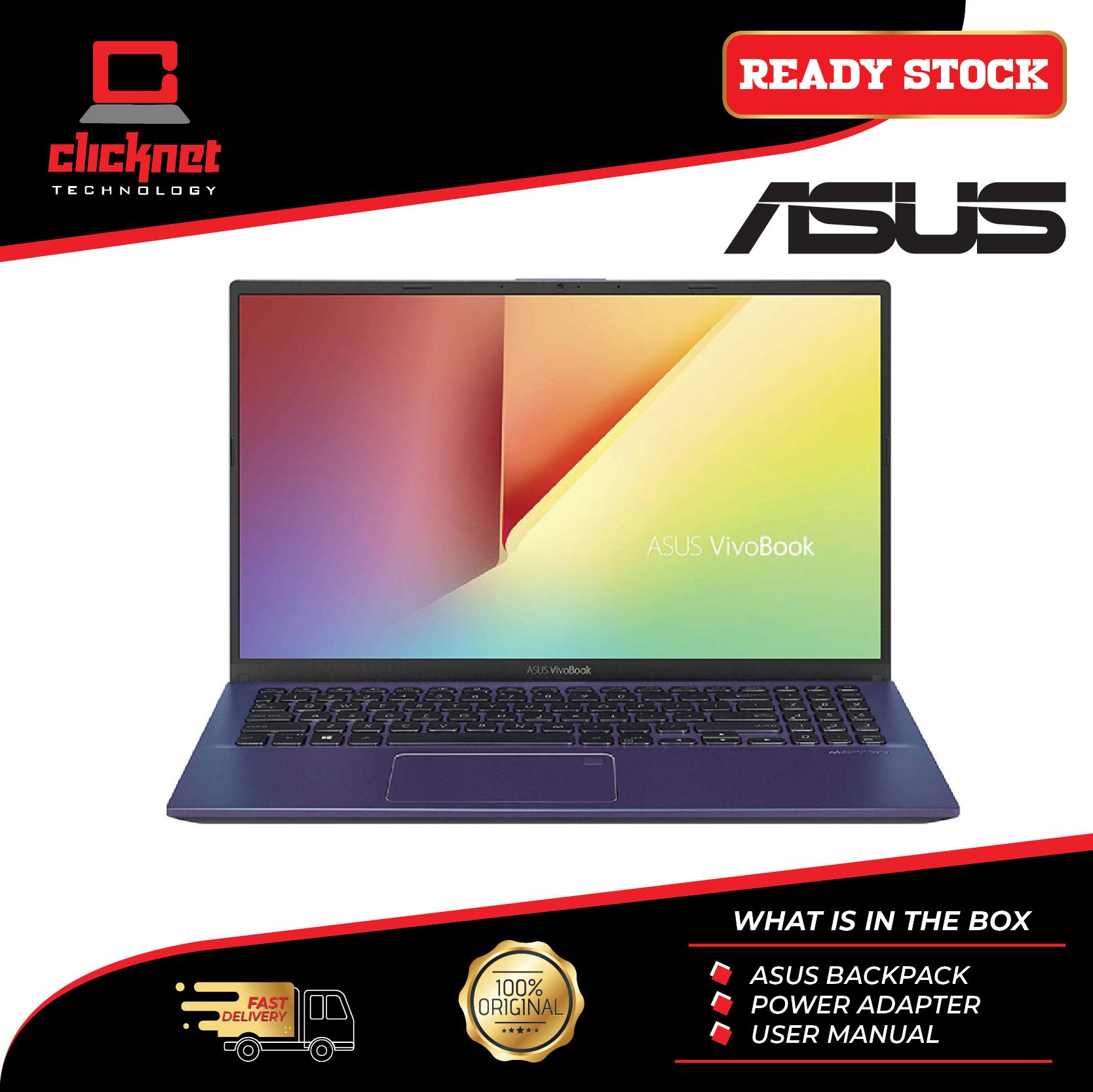 Asus Laptop Vivobook A512D-AEJ1069T 15.6  FHD Peacock Blue (Ryzen 5-3500U, 4GB, 512GB SSD, ATI, W10) Malaysia
