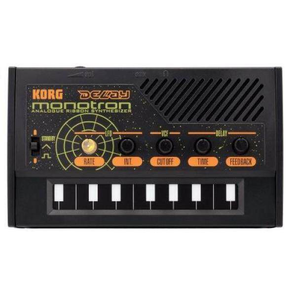 KORG Palm size analog synthesizer monotron DELAY Monotron delay Ideal for introductory with a simple layout Built-in speaker Headphones can be used Compact size that can be used anywhere Malaysia