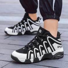 Giày Bóng Rổ Đệm Khí Unisex, Giày Thể Thao Ngoài Trời, Giày Bóng Rổ, Giày Tập Gym, Giày Thể Thao Cỡ 35-45