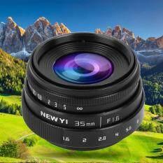 35 Mm F1.6 CCTV C Gắn Ống Kính Khẩu Độ Lớn Cho Máy Ảnh Sony Nex M4/3 FX