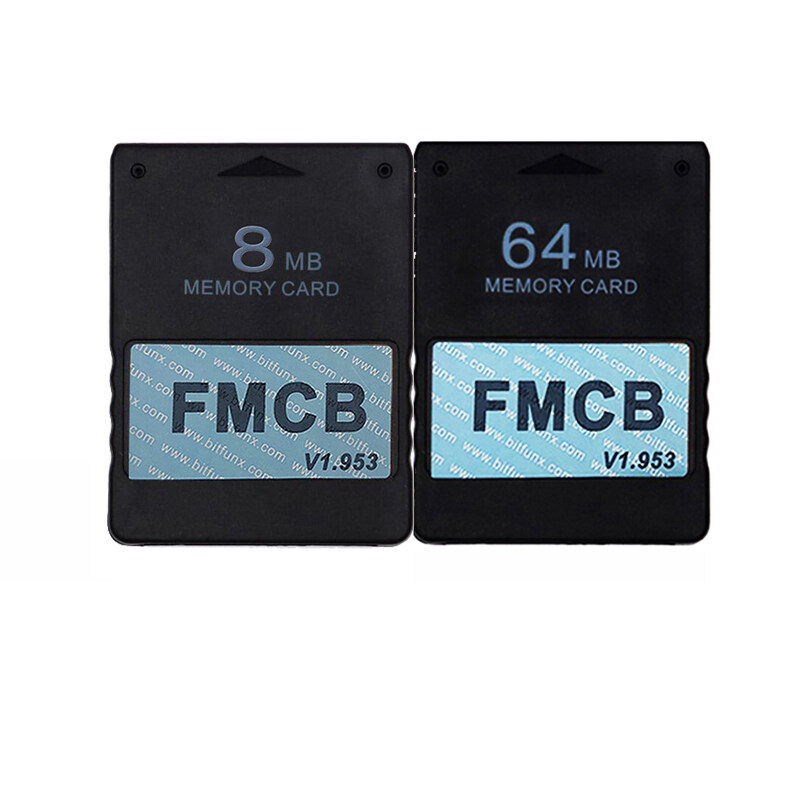 Giá 1.953 8MB Memory Card and 64MB Memory Card for Sony Playstation 2, FMCB Memory Card for PS2