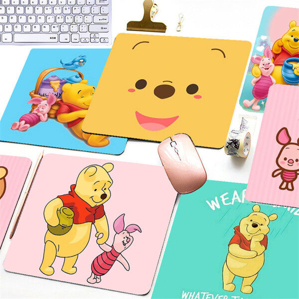 Cartoon Winnie the Pooh Printing Mouse Pad Game Office Home Multimedia Computer Keyboard Non-slip Mouse Pad Malaysia