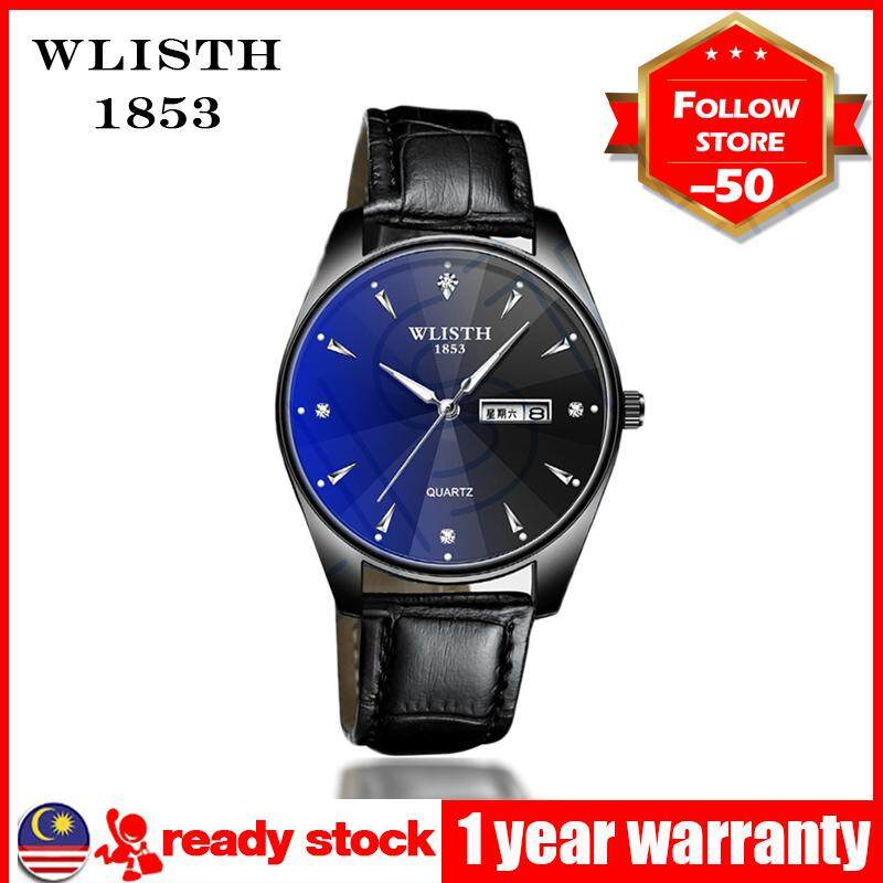 WLISTH Steel strip Business 2019 Casual Fashion gift Quartz Watch Men Watches Top Luxury Brand Famous Wrist Watch Male Clock For Men Malaysia
