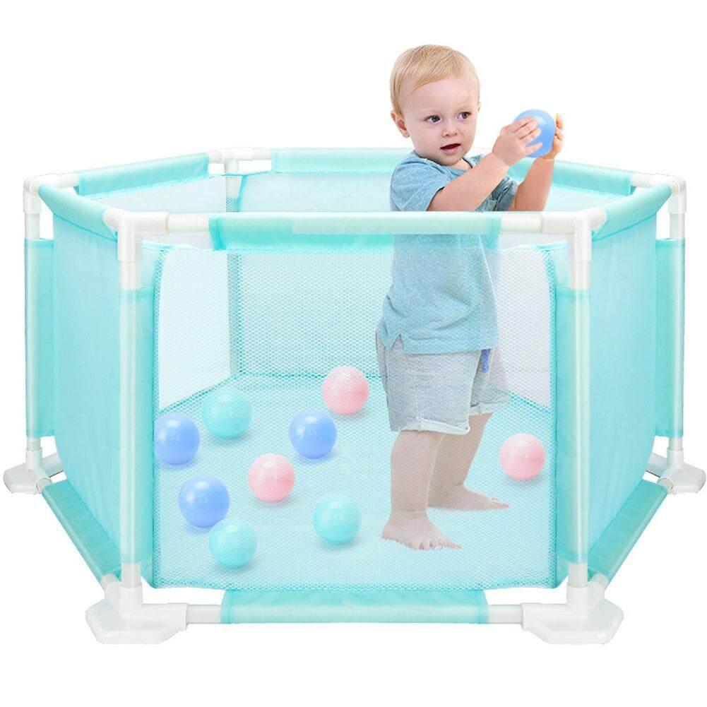 Anak Hexagonal Boks Playard Mainan Dicuci Bola Untuk Mandi Bola Renang Untuk Bayi/balita/bayi Baru Lahir Bayi Aman Merangkak By Busheng Mall.