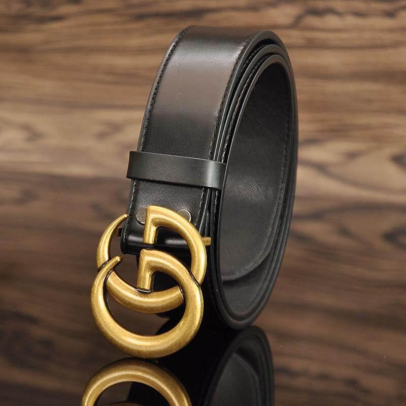 067a3c49719aea High Quality Gucci Belt Fashion Golden G Buckle Belt For Men Women Luxury  belt