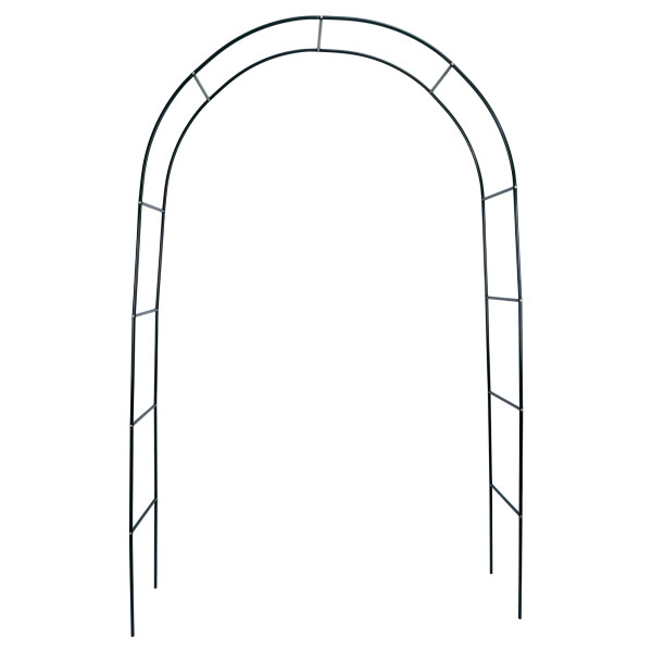 [Ganlitong] Plant Climbing Support Frame Garden Arbor Creative Pergola Arch Plants Archway Romantic High Quality Roses Gardening Tools Courtyard Wedding Decoration Gate
