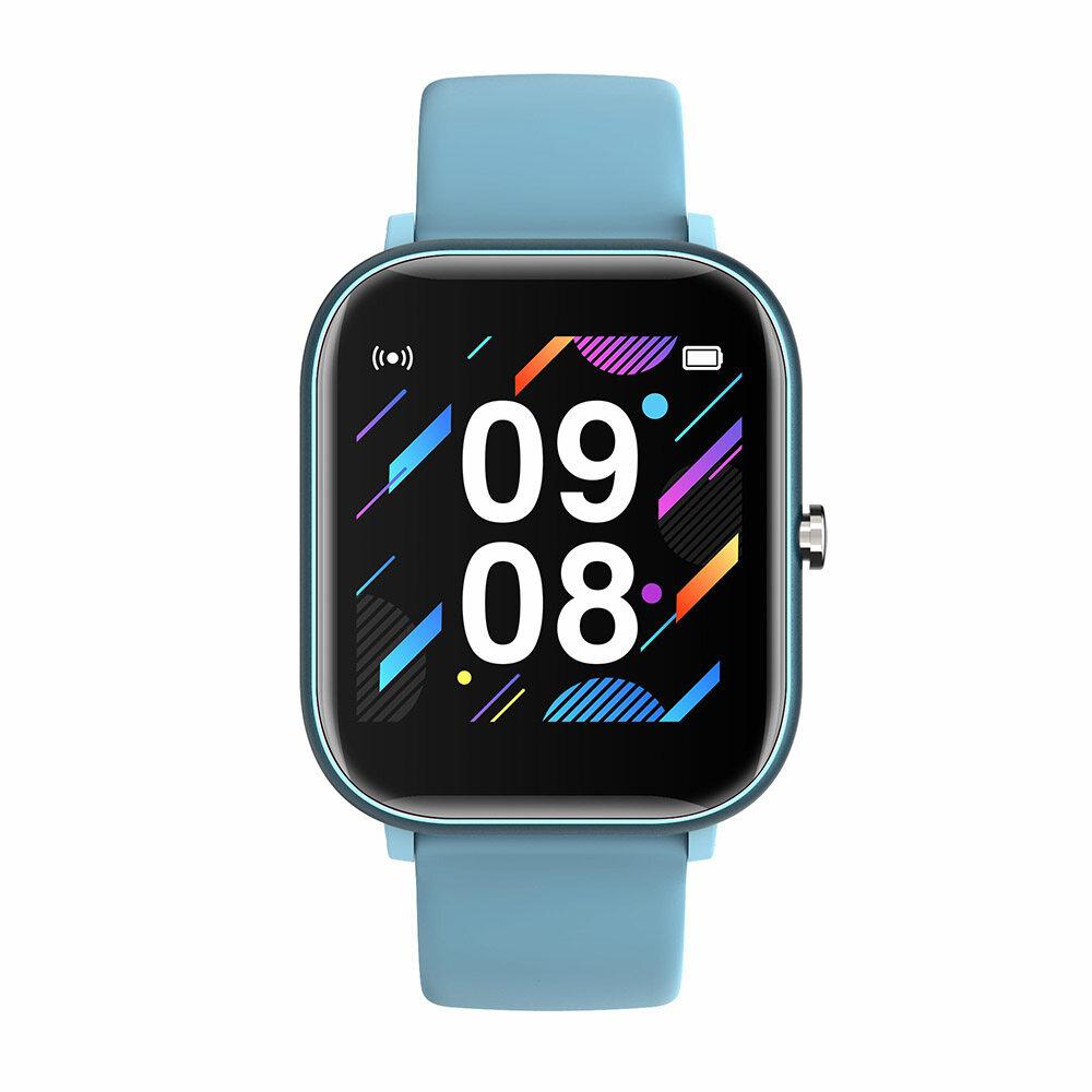 Docooler Đồng Hồ Thông Minh Cảm Ứng Đầy Đủ P20 1.4'', Máy Theo Dõi Nhịp Tim Nhiều Chế Độ Thể Thao Theo Dõi Giấc Ngủ Khoa Học Chống Nước Cho Nam Giới Phụ Nữ Thể Thao Smartwatch Tương Thích Với Android/IOS