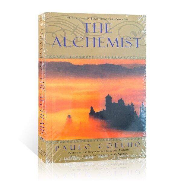 The-Alchemist-Jeremy-Irons Fable Book Reading for Youth Adults Story Novel Books English Book Teens Books Teenagers Birthday Gifts HOT Malaysia