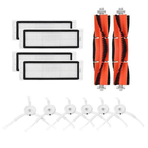 〔alloyseedtech〕6pcs Side Brush+4pcs Filter+2pcs Rolling Brush for Xiaomi Vacuum 2 Roborock Singapore