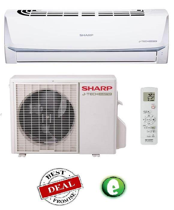 Sharp 1HP Standard Inverter R410 Air Conditioner AHX09SEV (AIR COND)