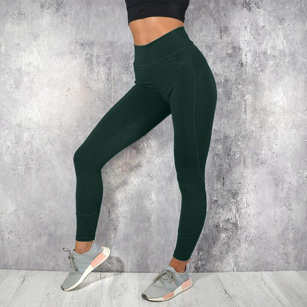 2939 Women Yoga Set Yoga Sports Bra & Stretch Pants Leggings Running Fitness Suit By Finleyshop.