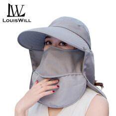 LouisWill Mũ Nữ Mũ Che Nắng Nữ Mũ Đi Biển Ngoài Trời Mùa Hè, Mũ Chống Nắng UV Mũ Mặt Nạ Cổ Mũ Lưỡi Trai Chống Tia UV 360 ° Mũ Ngư Dân Sunbonnets Cho Nữ