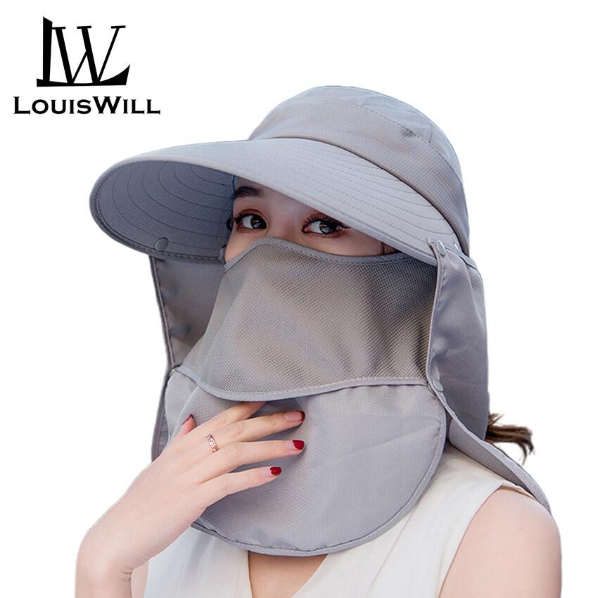 LouisWill Mũ Nữ Mũ Che Nắng Nữ Mũ Đi Biển Ngoài Trời Mùa Hè, Mũ Chống Nắng UV Mũ Mặt...