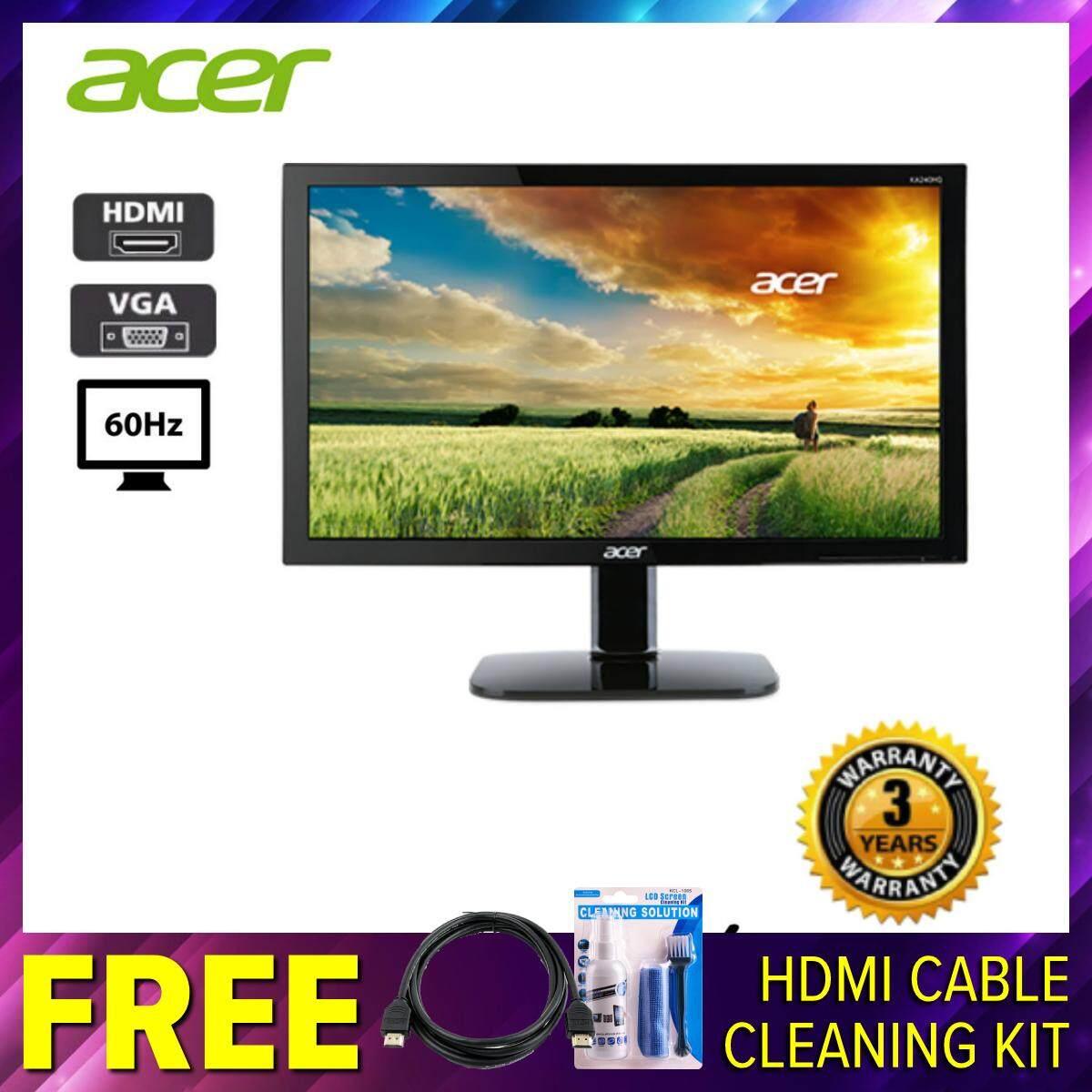 Acer KA220HQ 21.5 60Hz 5ms Monitor With HDMI/VGA Malaysia
