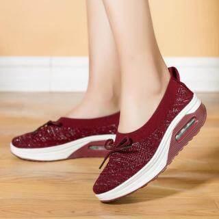 DOSREAL Nền Tảng Sneakers, Giày Đế Xuồng Thoáng Khí Thường Ngày Cho Nữ Giày Tập Luyện Thời Trang Nữ Giày Lười Tăng Chiều thumbnail